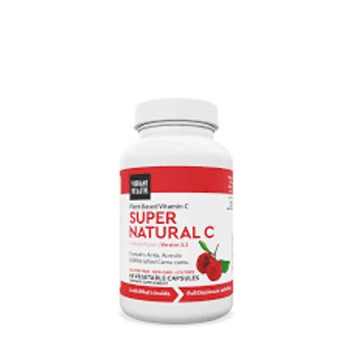 Super Natural C is a high ORAC, plant-based vitamin C supplement from certified organic amla, acerola, and wildcrafted camu camu extracts. It's a vitamin C supplement your body can recognize and synthesize as a food source.  100% Plant-based vitamin C complex  Supports immune health, tissue integrity, and healthy aging No added or synthetic ascorbic acid Contains whole food bioflavonoids