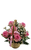 Flower Rose Basket (6 roses)