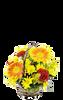 6 Inch Flower Basket