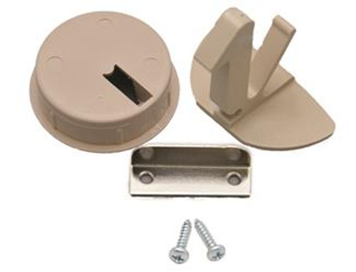 FLUSH MOUNT LATCH- TAN