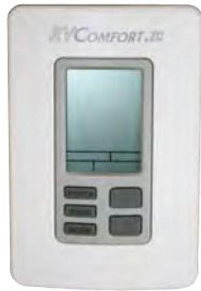 DIGITAL ZONED T-STAT WHITE