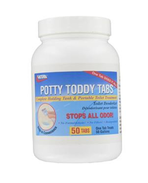 50pk POTTY TODDY TABS