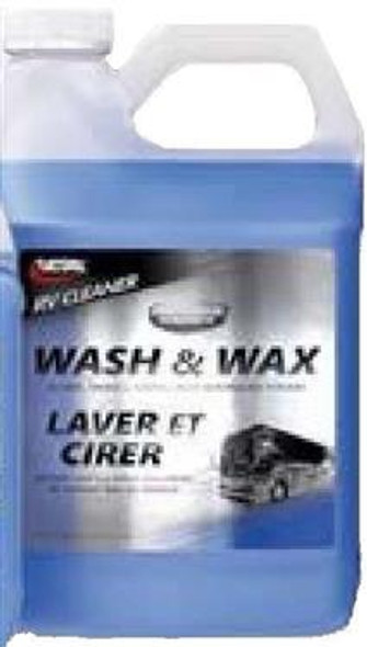RV WASH & WAX, 64OZ BOTTL