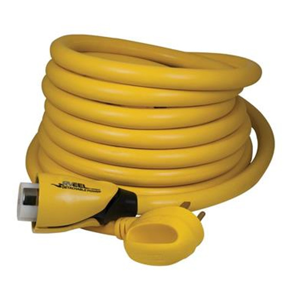 50A 125/250V 25' RV CORDSET - MALE 4 WIRE TO FEMALE LOCKING