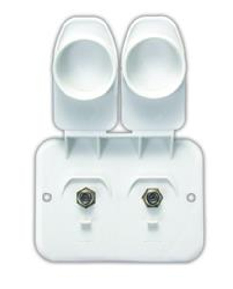 CABLE/CABLE PLATE- WHT