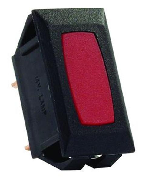 1pk 12V INDICATOR- RED/BLACK