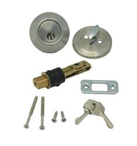 SINGLE DEAD BOLT - STAINLESS STEEL