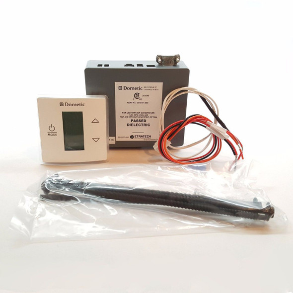 Dometic Single Control Kit LCD Cool Furnace White Thermostat (3316230.000)