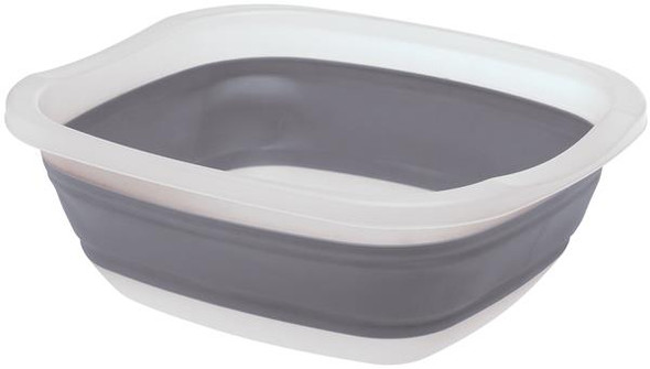 COLLAPSIBLE TUB, GREY