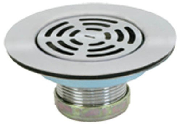 "MOBILE HOME 4-1/2"" SHOWER DRAIN STAINLESS STEEL!"