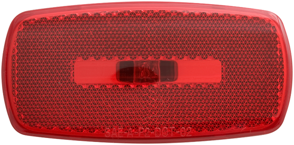 Optronics MC32RBB Red Clearance Side Marker Light RV Camper Black 12v Reflector