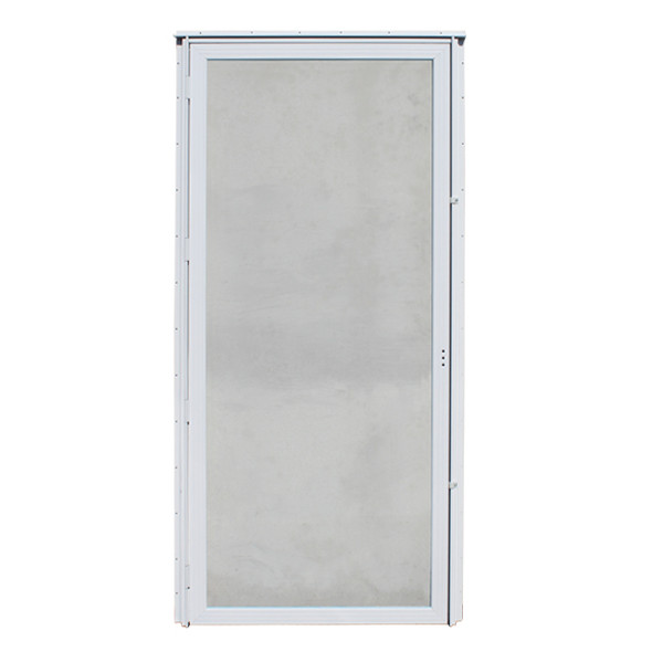 Out-Swing All Glass Storm Door