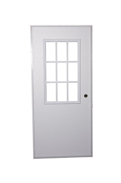 Exterior Out-Swing Door With Cottage Window