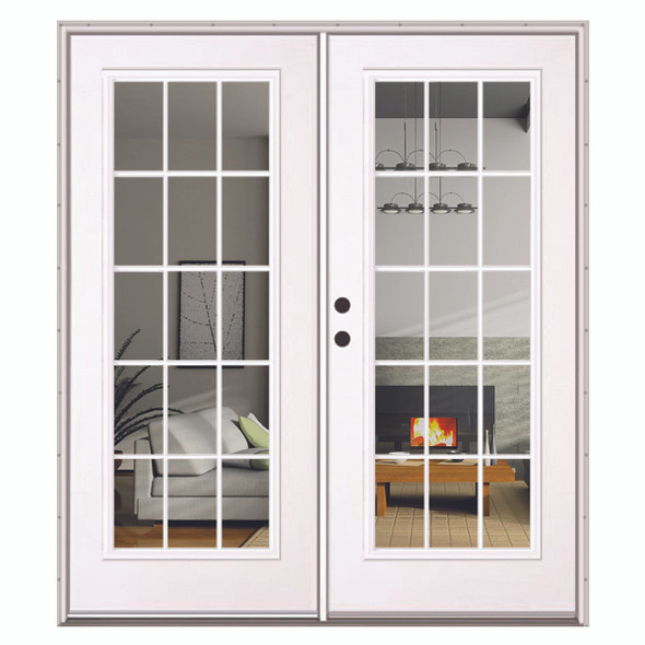 Exterior Patio French Double Door