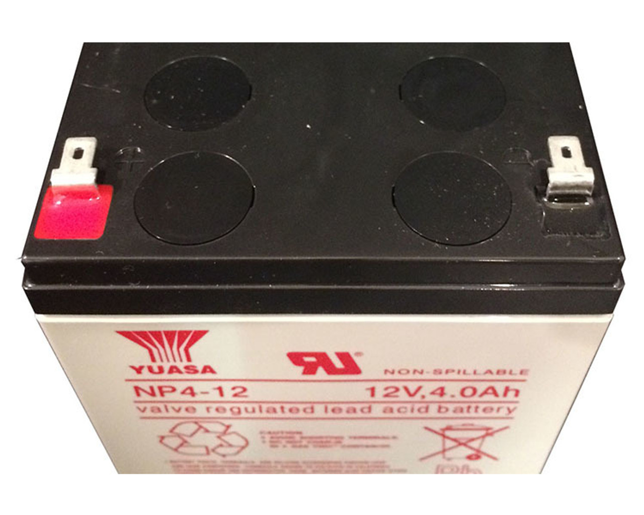 Yuasa 12V 4 0AH NP4-12 Battery
