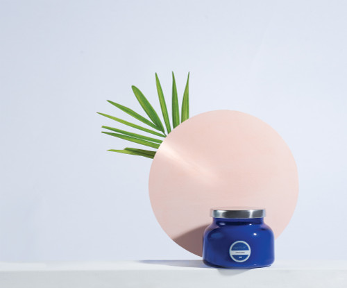 Experience the iconic Volcano candle that started it all. The unmistakable Capri Blue silhouette paired with the signature cobalt blue creates a bold statement that has become a staple for this cult classic
