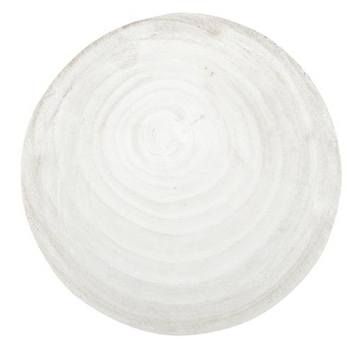 Paulownia Wood Tray- White