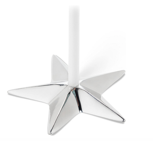 Flat Star Candle Holder
