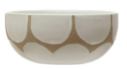 Scallop Design Bowl