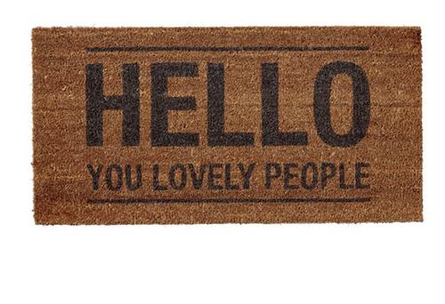 Lovely People Doormat
