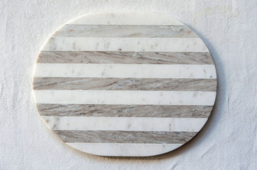 Grey & White Marble Board