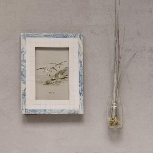 Blue /Ivory Frame 4x6