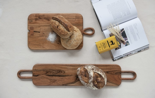 Dual Handle Acacia Wood Board