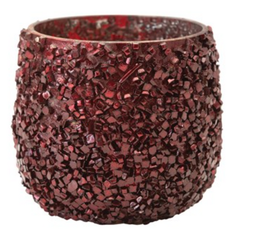 Crushed Glass Tealight