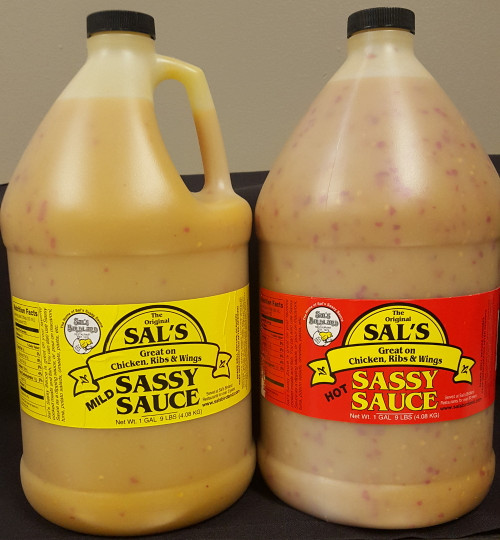Sal's Sassy Sauce 1 Gallon