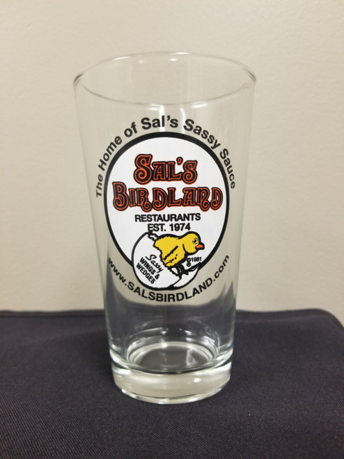 Sal's Pint Glasses - Set of 3
