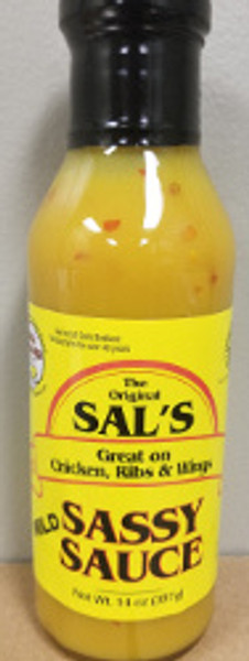 Original Sal's Sassy Sauce - Mild (3 Pack)