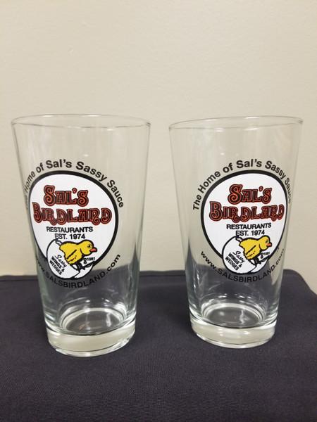 Sal's Pint Glasses - Set of 3