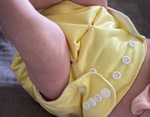 Gjenbruksbare bleier fra Beaming Baby