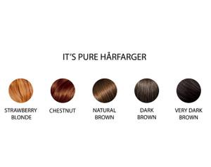Naturlig og økologisk hårfarge fra It's Pure
