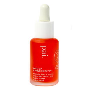 Pai Rosehip Bioregenerate er en unik økologisk ansiktsolje som inneholder konsentrert nypeolje fra selve frukten (ikke frøene). Oljen er rik på Trans-Retinoic Acid som er som et drivstoff for hudens naturlige reparasjonsprosess!