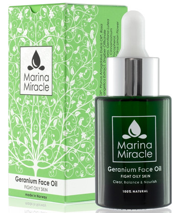 Marina Miracle Geranium Face Oil, 28 ml (tidl. Acne Fight)