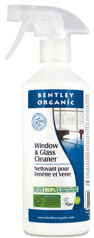 Bentley Organics Vaskemiddel - Spray for vindu, speil og blanke overflater, 500 ml