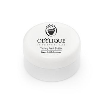 Odylique Toning Fruit Butter er ypperlig å bruke etter soling som after sun eller etter et bad. Deilig body butter for alle hudtyper, også den mest sensitive. Med en balmaktig konsistens trekker den lett inn i huden og gir intens fuktighetsboost for myk, smidig hud. Testerstørrelse