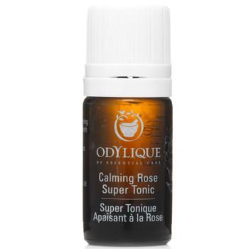 Odylique Calming Rose Super Tonic, testerstørrelse er et multiprodukt for tørr, moden, normal eller betent og irritert hud. Egnet for hud med rosacea. Denne toneren vil både rense, tone, lukke porer og balansere hudens pH. I varmt og fuktig vær opplever mange at denne toneren kan gi fuktighet og berolige huden, og kan ofte helt erstatte behovet for fuktighetskrem.