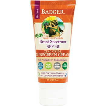 Badger Solkrem SPF 30 / Kids, 87 ml