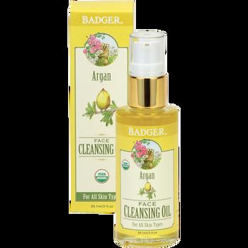 Badger Argan Oil ansiktsrens, 59 ml