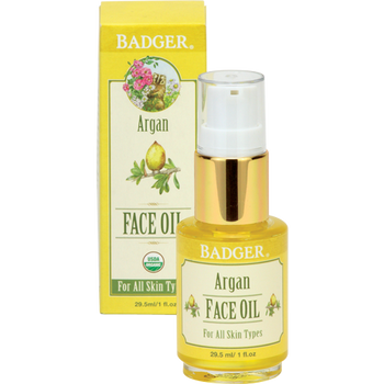 Badger Argan Face Oil, 29.5 ml