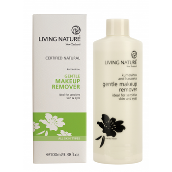 Living Nature Gentle Makeup Remover, 100 ml