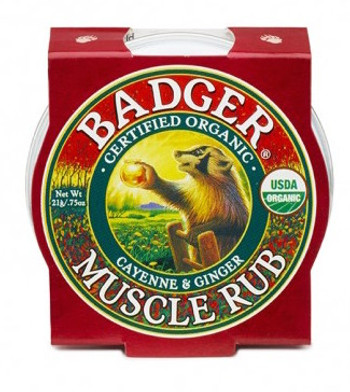 Badger Muscle Rub, 21 gr