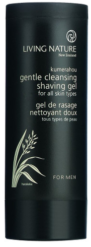 Living Nature Gentle Cleansing Shaving Gel, 100 ml