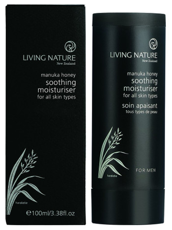 Living Nature Soothing Moisturiser - for menn, 100 ml