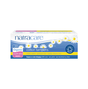 Natracare Tampong u/hylse Super Plus, 20 pk