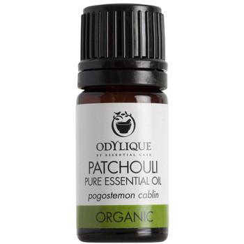 Odylique essensiell olje Patchouli ren essensiell olje med intenst rik, jordlig duft. Inneholder antidepressive egenskaper og kan virke lettende på stress og for å gjenopprette emosjonell balanse. Fungerer også godt på tørr, sprukket eller moden hud.