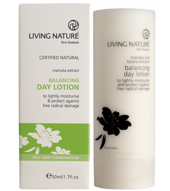 Living Nature Balancing Day Lotion, 50 ml
