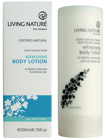 Living Nature Refreshing Body Lotion, 200 ml